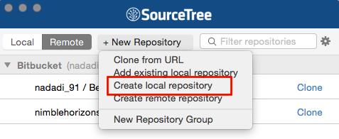 Create Local Repository